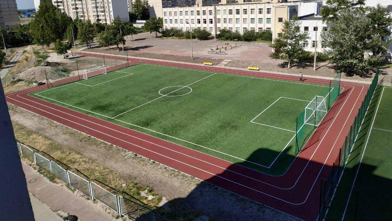 Будівництво спортивних об'єктів