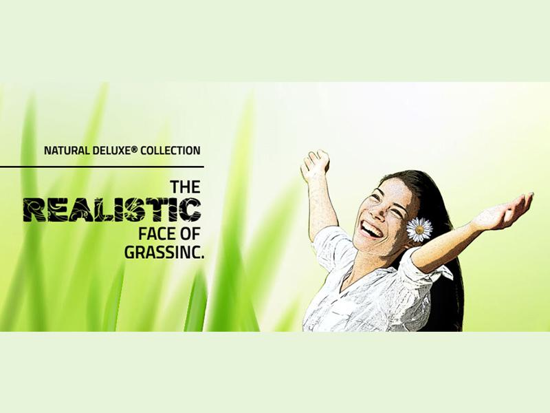 NATURAL DELUXE-C® колекція – штучна трава (GrassInc, Голландія)