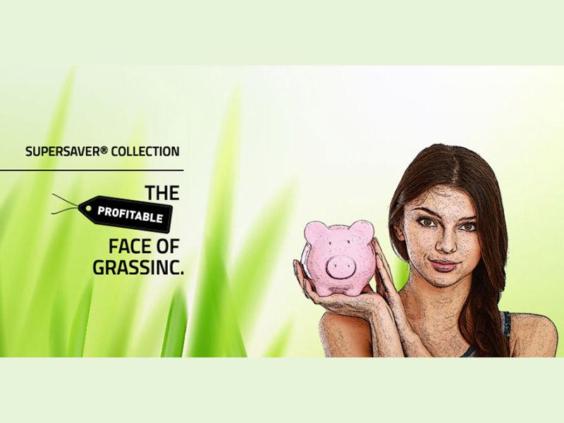 THE SUPERSAVER® колекція – штучна трава (GrassInc, Голландія)